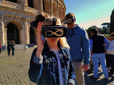 Virtual Reality Colosseum Tour By Ancient and Recent ENG